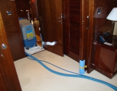 Limpieza textil en barcos