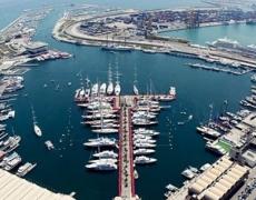Limpieza de barcos en Valencia (Marina Real Juan Carlos I)